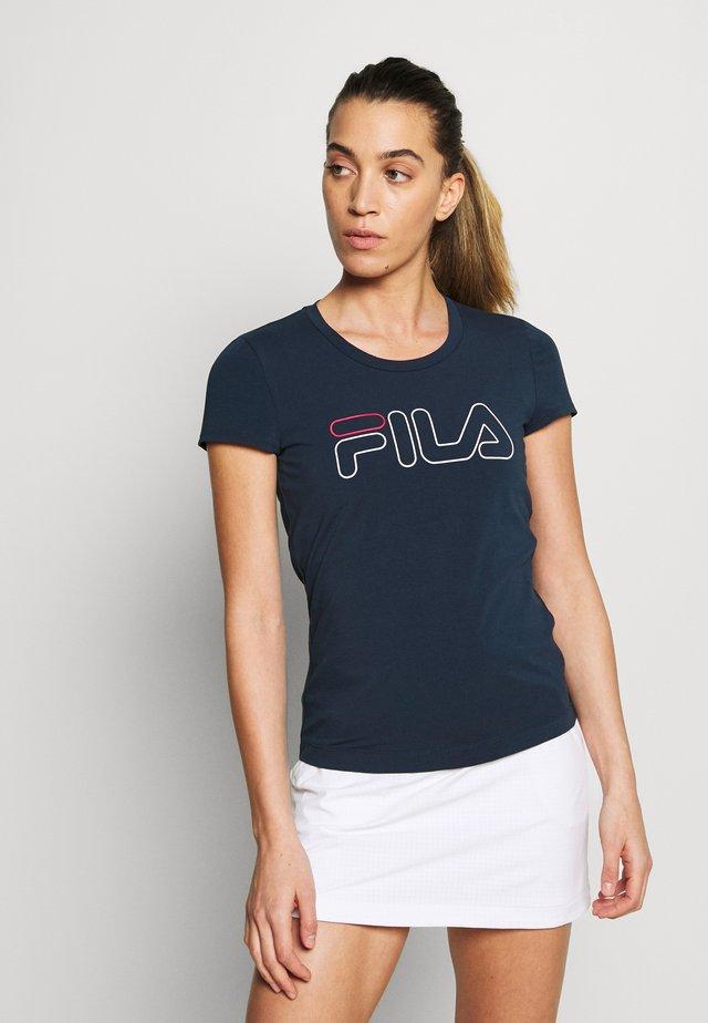 RENI - T-Shirt print - peacaot blue