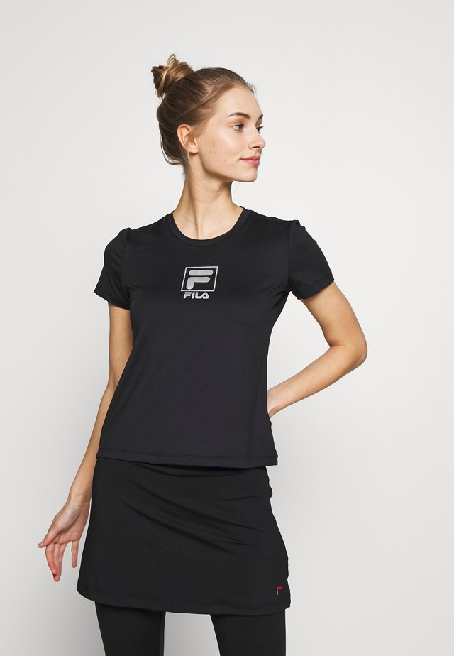 ANGIE - T-Shirt print - black