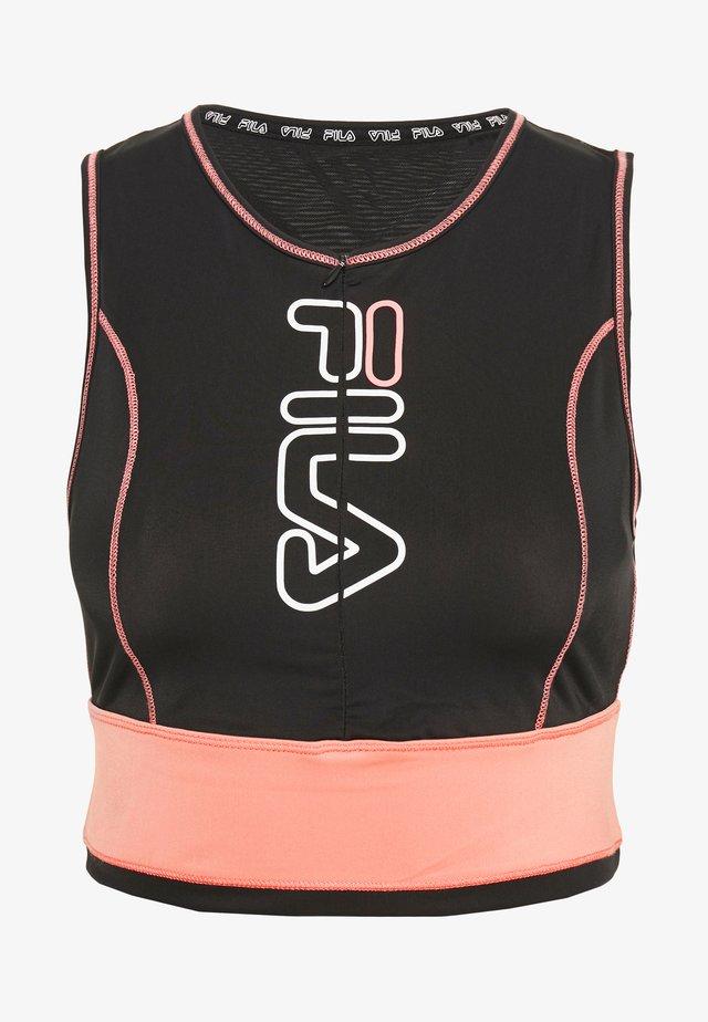 AIRI - Top - black/shell pink