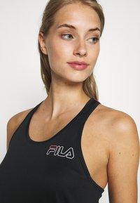 Fila - ADITA - Top - black/bright white - 4