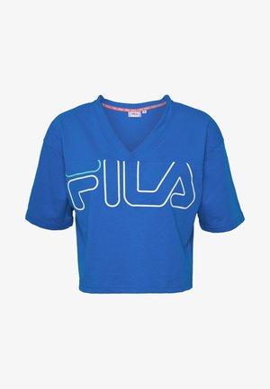 LEDA - Print T-shirt - princess blue