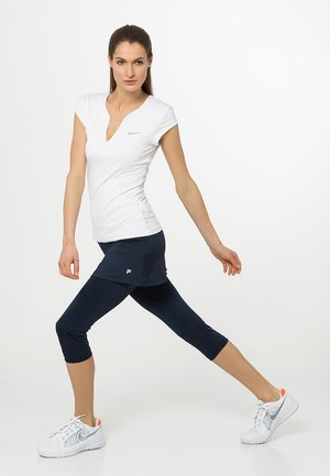 SKORT SINA 2-IN-1 - Leggings - peacot blue