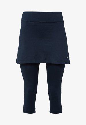 SKORT SINA 2-IN-1 - Legginsy - peacot blue