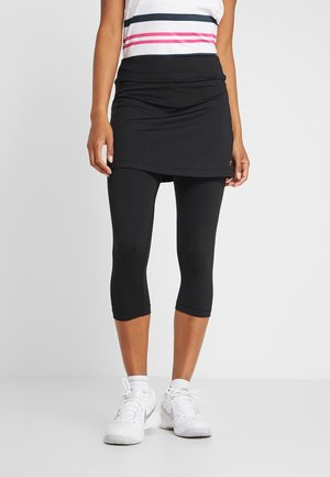 SKORT SINA 2-IN-1 - Leggings - black