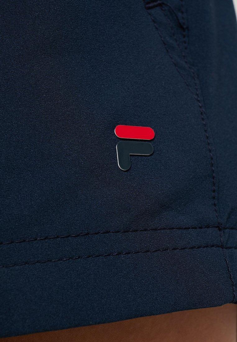 Fila BOXY SHORT BIANCA - Krótkie spodenki sportowe - peacoat blue