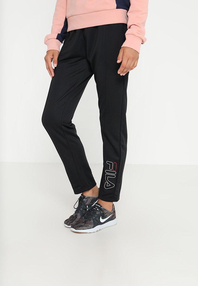 Fila - DELIGHT PENCIL TRACK PANTS - Tracksuit bottoms - black