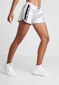 Fila - Sports shorts - silver/black - 0
