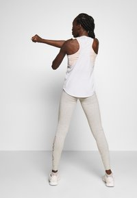 Fila - FLEXY LEGGINS WOMAN - Tights - light grey melange - 2