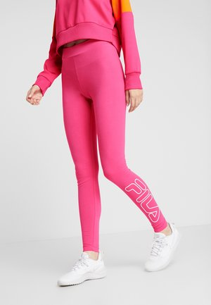 LEGGINGS - Punčochy - beetroot purple