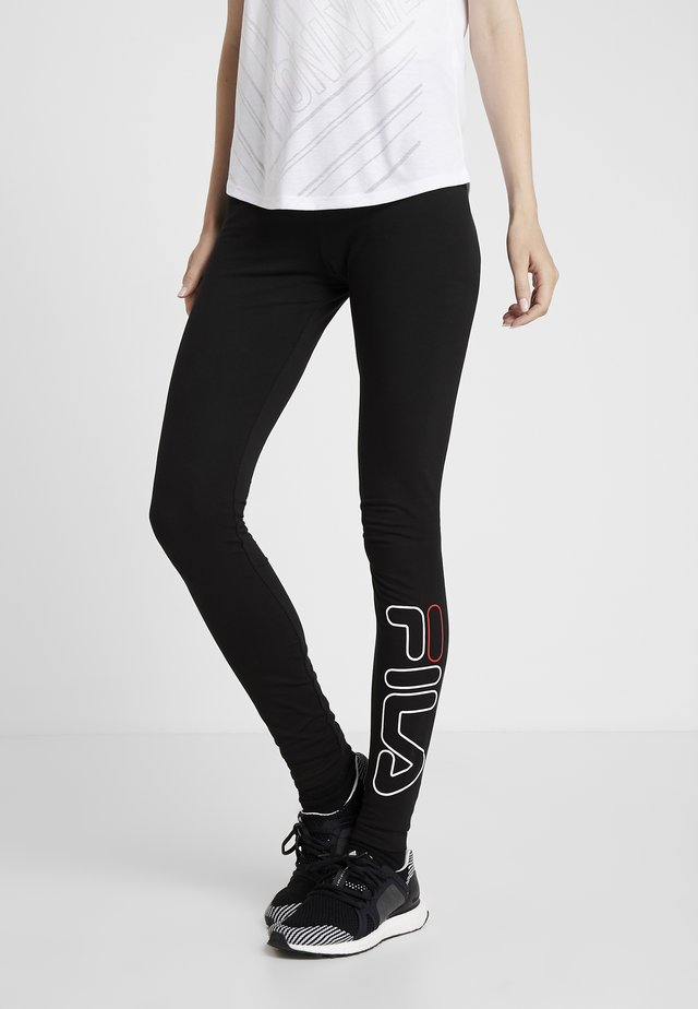FLEXY LEGGINS WOMAN - Leggings - black