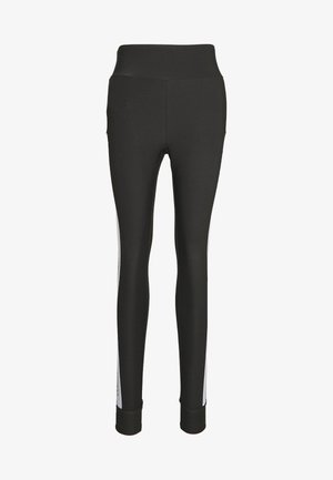 LARISSA LEGGINGS - Legginsy - asphalt/bright white