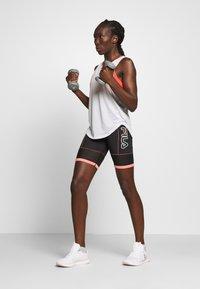 Fila - AMSER - Sports shorts - black/shell pink - 1