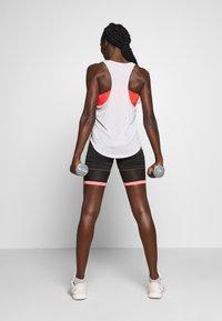 Fila - AMSER - Sports shorts - black/shell pink - 2