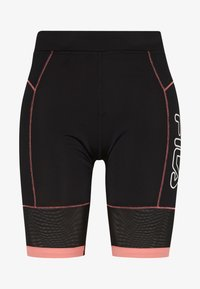 Fila - AMSER - Sports shorts - black/shell pink - 4