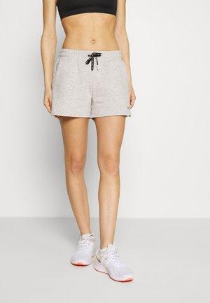 LAURIE - Short de sport - light grey melange bros/bright white