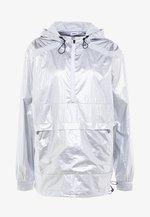 ANORAK - Training jacket - silver/white