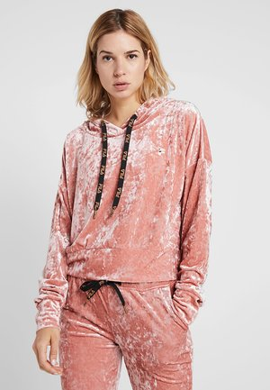 HOODED - Jersey con capucha - canyon rose