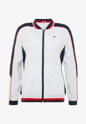 JACKET AMANDA - Giacca sportiva - white/blue/red