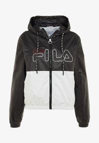 Fila - WIND JACKET - Trainingsvest - black/bright white - 5