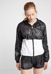 Fila - WIND JACKET - Trainingsvest - black/bright white - 0