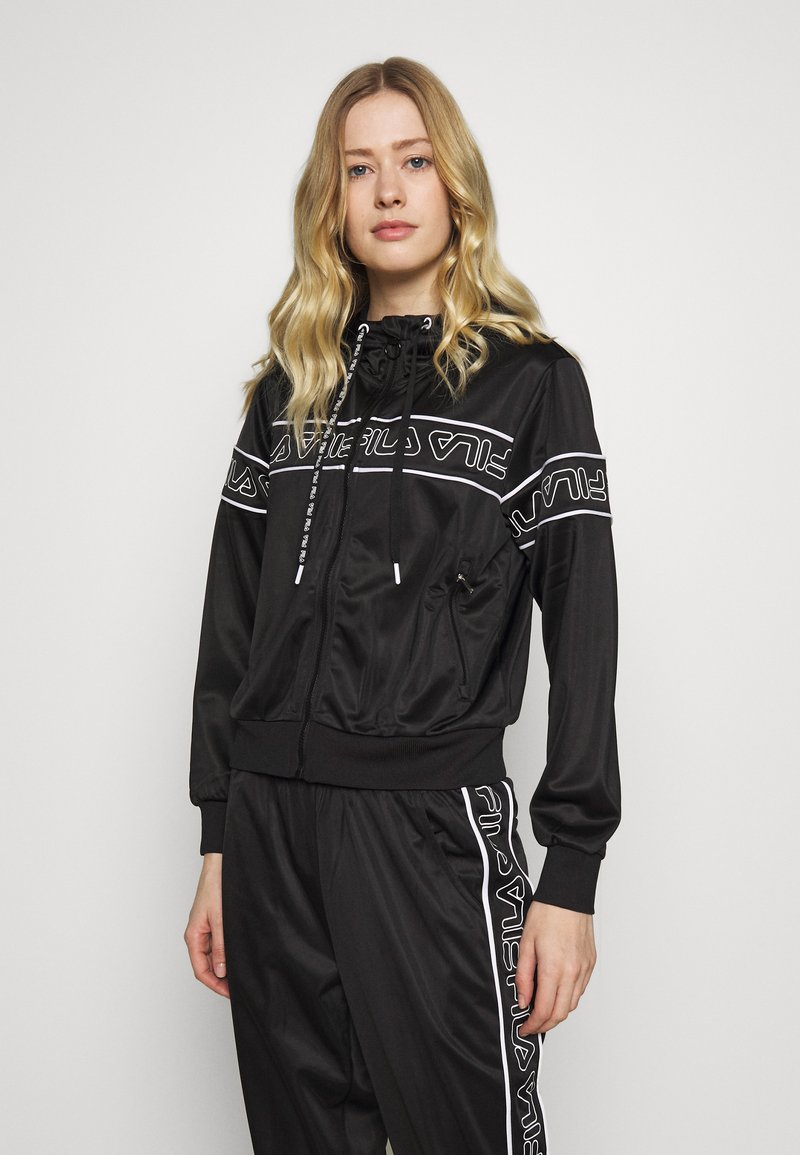 Fila - LIA - Training jacket - black/bright white