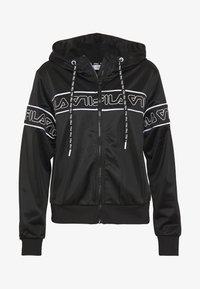 Fila - LIA - Training jacket - black/bright white - 3