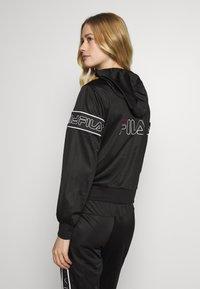 Fila - LIA - Training jacket - black/bright white - 2