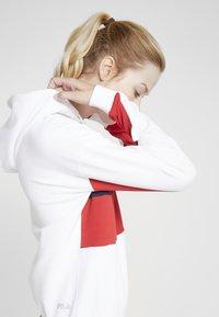 Fila - HOODY - Hoodie - bright white/true red/black iris - 4