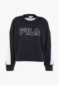 Fila - Sweater - black/bright white - 4