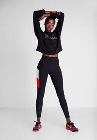 Fila - Sweater - black/bright white - 1