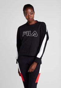 Fila - Sweater - black/bright white - 0
