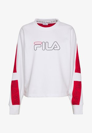 LAURA - Sweater - bright white/true red