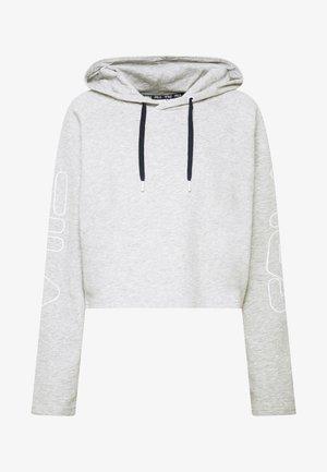 LEANNA - Hoodie - light grey melange bros