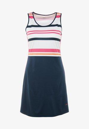 DRESS AUDREY - Abbigliamento sportivo - peacoat blue/fuchsia purple