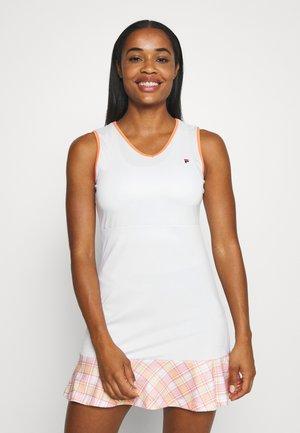 DRESS ZOE - Sports dress - white