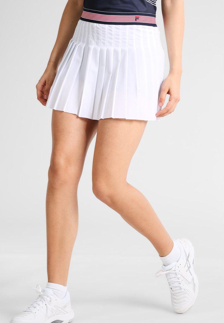 Fila - SKORT  SAFFIRA  - Sportovní sukně - white