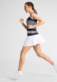 Fila - SKORT  SAFFIRA  - Sportovní sukně - white - 1