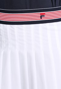 Fila - SKORT  SAFFIRA  - Sportovní sukně - white - 3