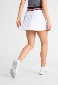 Fila - SKORT  SAFFIRA  - Sportovní sukně - white - 2