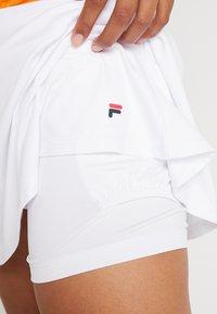Fila - SKORT ANN - Sportovní sukně - white - 5