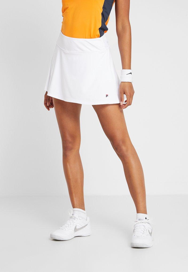 Fila - SKORT ANN - Sportovní sukně - white