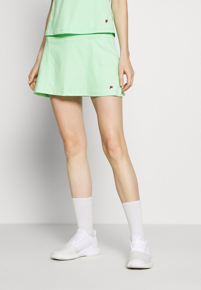 SKORT AVA - Sportovní sukně - green ash