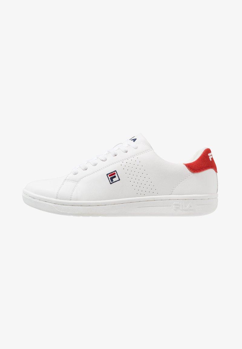 Fila - CROSSCOURT 2 - Obuwie treningowe - white/red