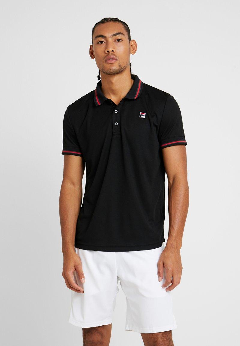 Fila - PIRO - Polo shirt - black