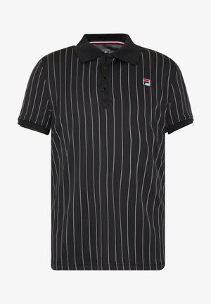 STRIPES - Sports shirt - black/white