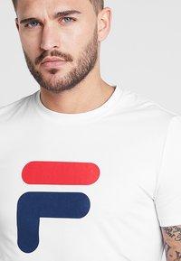 Fila - ROBIN - T-shirt med print - white - 3