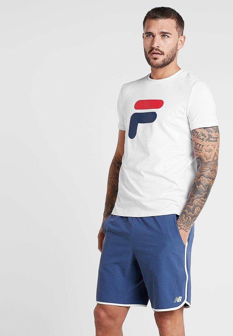 Fila - ROBIN - T-shirt med print - white