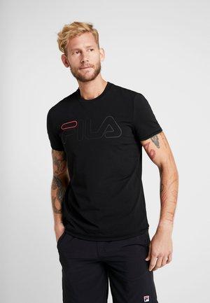 TOM - Print T-shirt - black