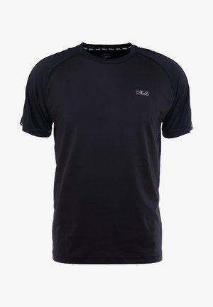 AUSTIN - Camiseta estampada - black