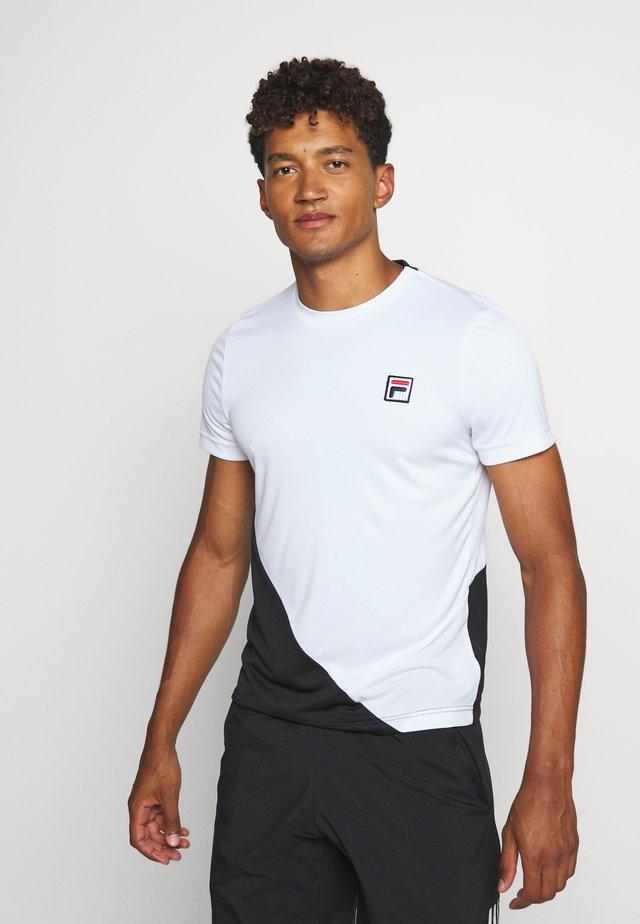 LEON - T-shirt med print - white